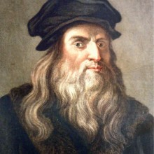 Calicot : Léonard de Vinci